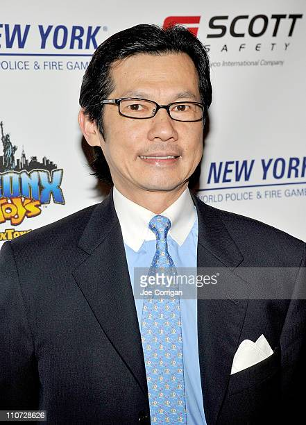 President/CEO of Municipal Credit Union Kam Wong attends the 2011 World Police and Fire Games Benefit Gala dinner at Jacob Javits Center on March 23...
