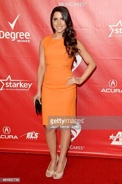 President/CEO of the Brooks Family Foundation Caren Brooks attends The 2014 MusiCares Person Of The Year Gala Honoring Carole King at Los Angeles...