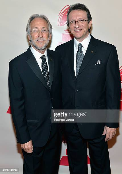 President/CEO of The Recording Academy and GRAMMY Foundation President/CEO Neil Portnow and President/CEO of The Latin Recording Academy Gabriel...