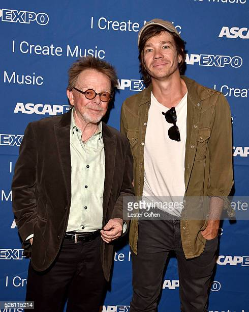 President/Chairman Paul Williams and singersongwriter Nate Ruess attend the 2016 ASCAP I Create Music EXPO on April 29 2016 in Los Angeles California