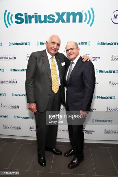 President/Chief Content Officer of SiriusXM Radio Scott Greenstein and Ken Langone attend as SiriusXM and NYU Langone Health celebrate the 10th year...