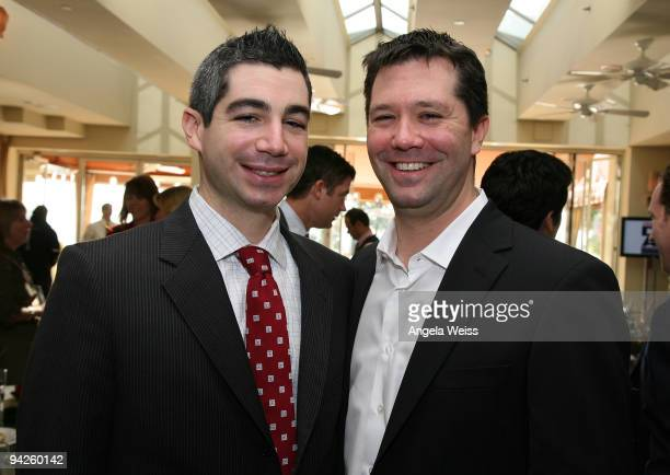 President/Chief Operating Officer of Dreamworks Studios Jeff Small and Josh Small attend Variety's 'Dealmakers Breakfast' at the Sunset Tower Hotel...