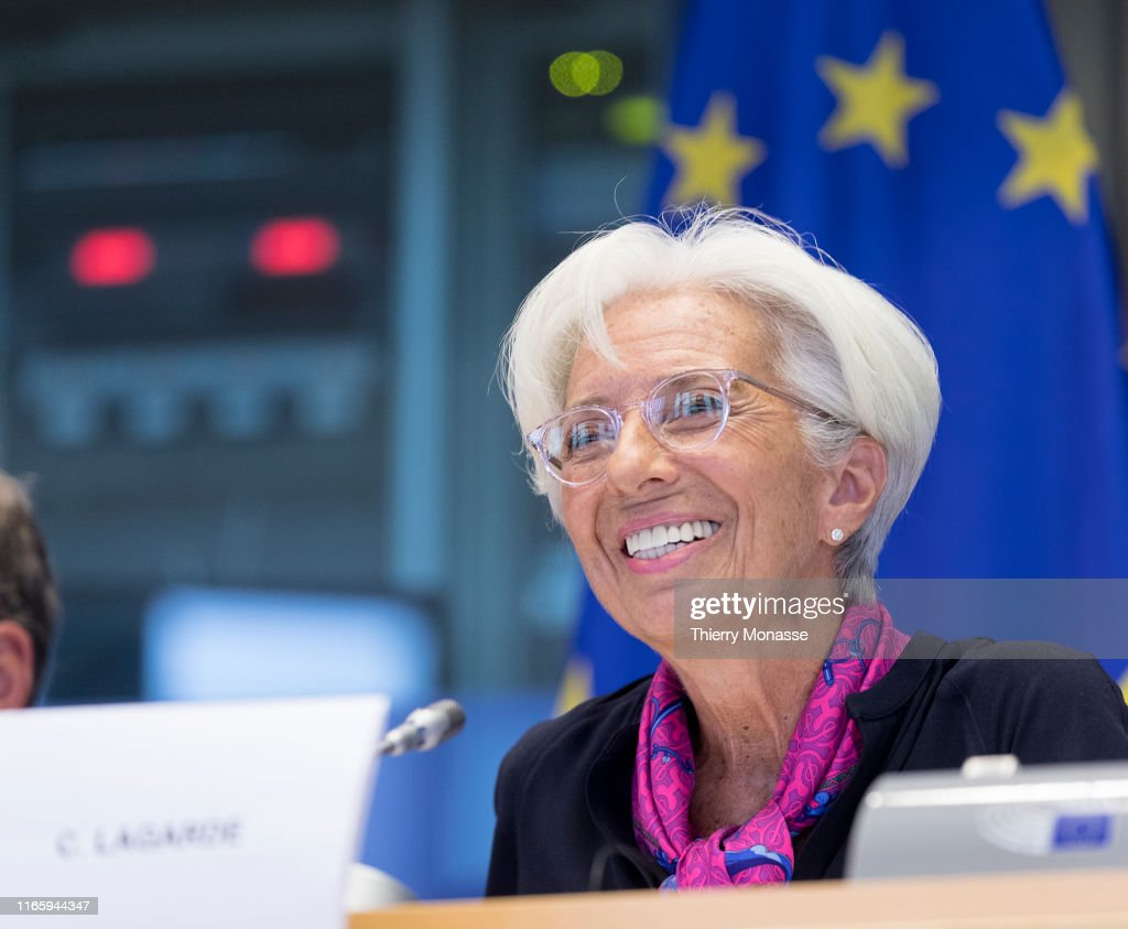 Appointment Of The President Of The European Central Bank Christine Lagarde : News Photo