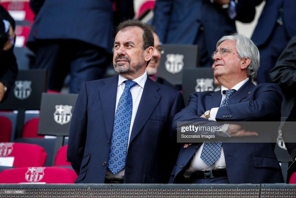 FC Barcelona v Getafe - La Liga Santander : News Photo