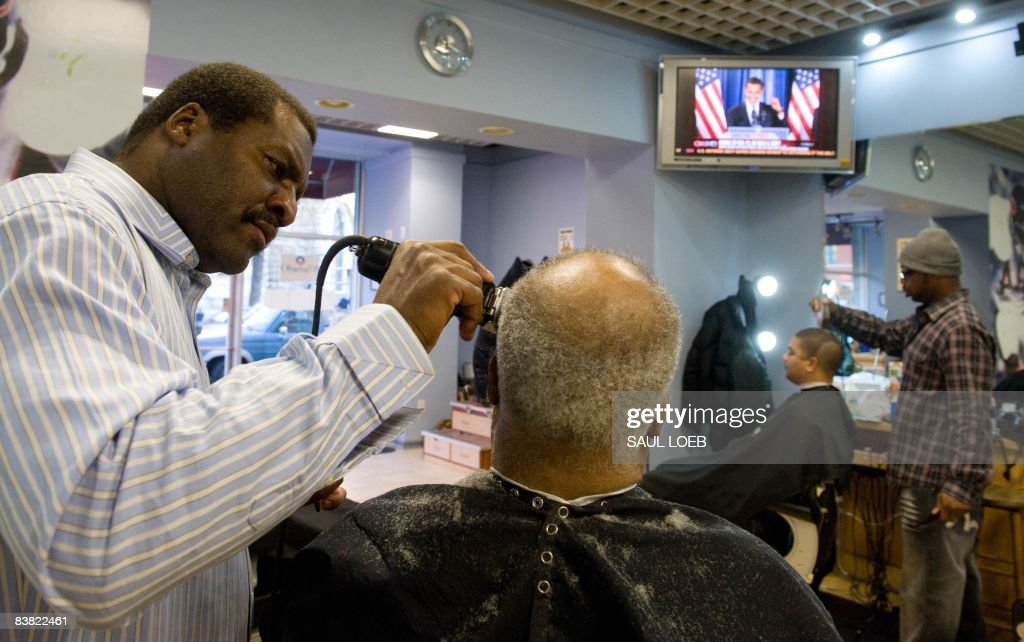 Us President Elect Barack Obamas Barber Pictures Getty Images