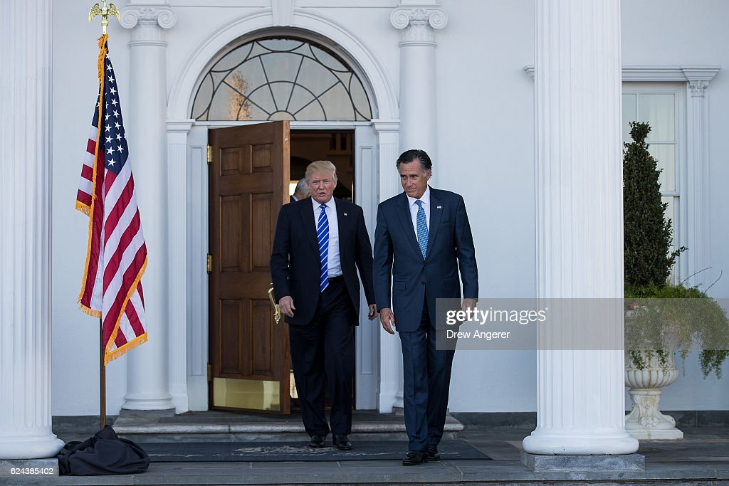 Donald Trump Holds Weekend Meetings In Bedminster, NJ : Fotografía de noticias