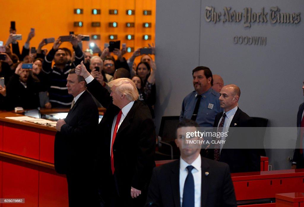US-TRUMP-POLITICS : News Photo