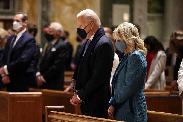 DC: Joe Biden Marks His Inauguration With Full Day Of Events