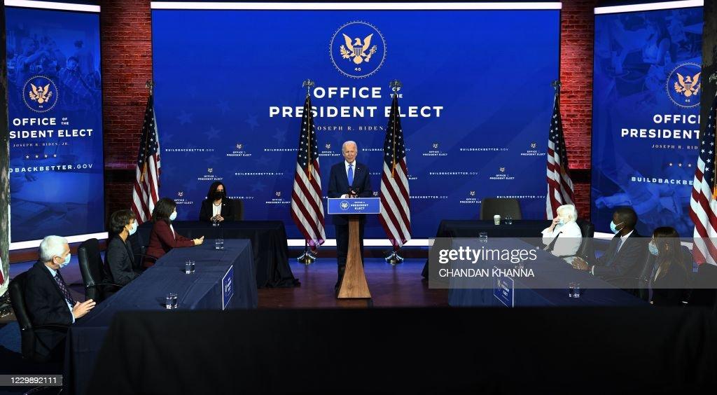 US-POLITICS-BIDEN : News Photo
