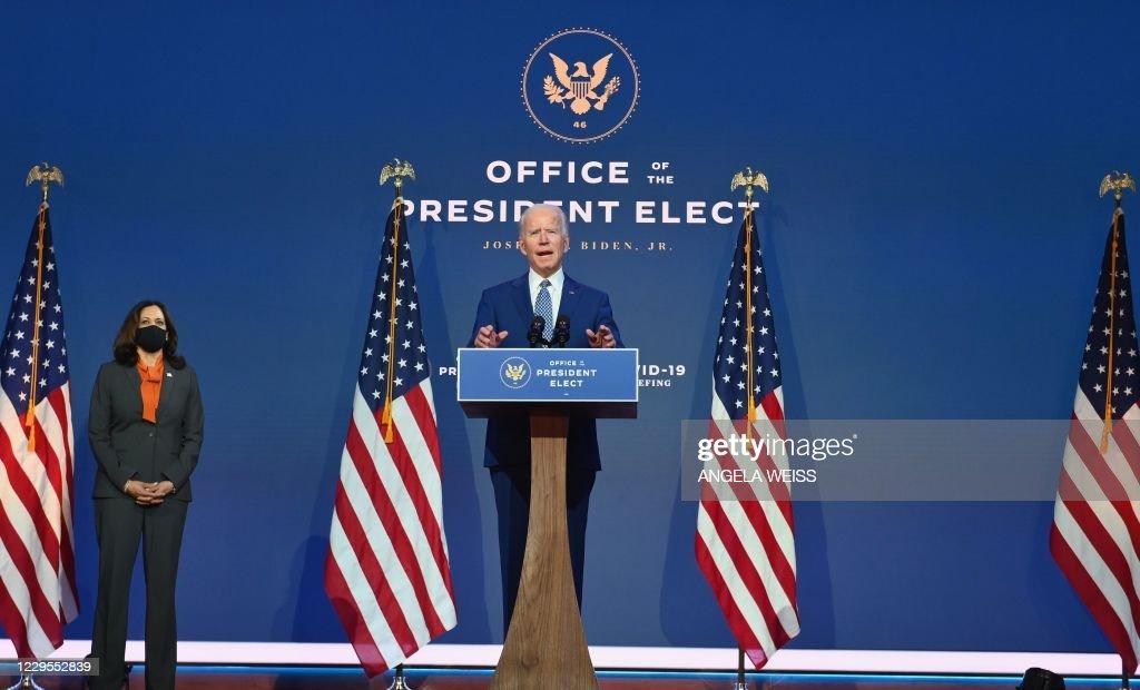 US-VOTE-BIDEN : News Photo