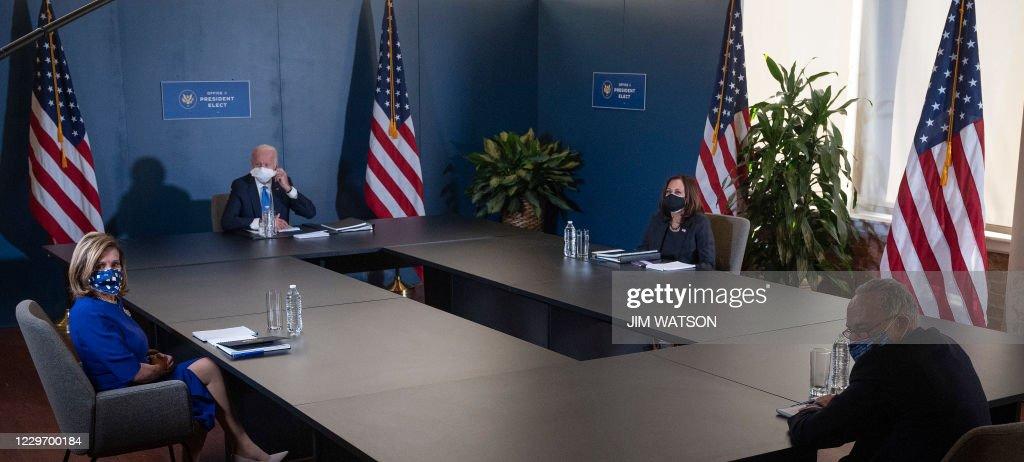 US-VOTE-POLITICS-BIDEN : News Photo
