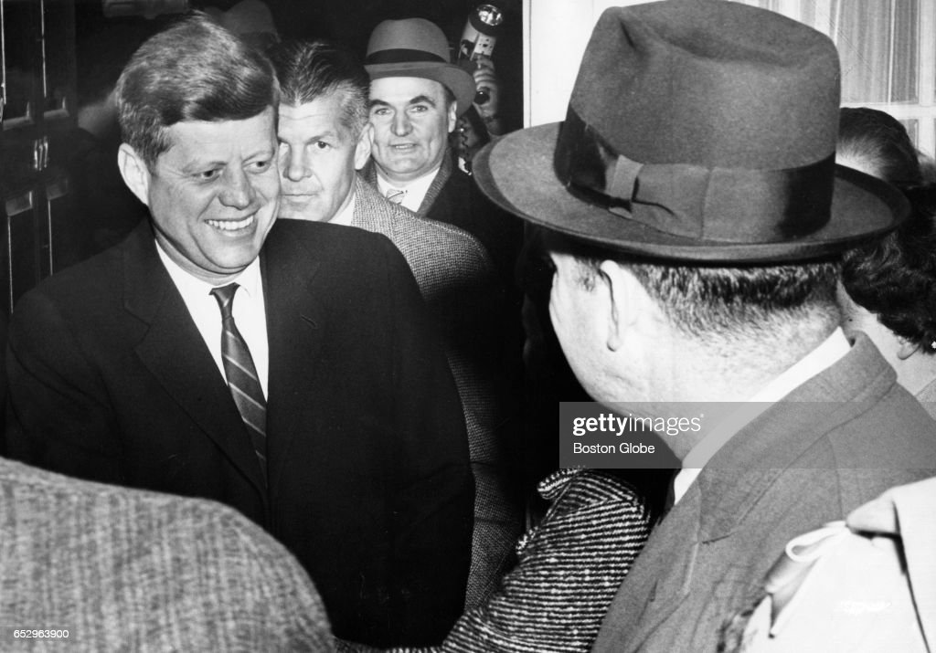 John F. Kennedy Visits Harvard On Board Of Overseers
