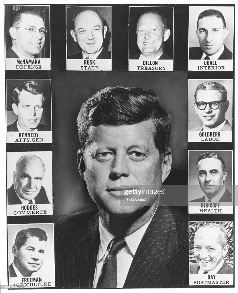 kennedy's cabinet pictures | getty images