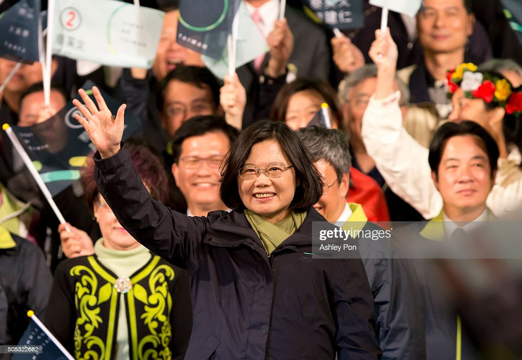 Taiwan Presidential Election 2016 : News Photo