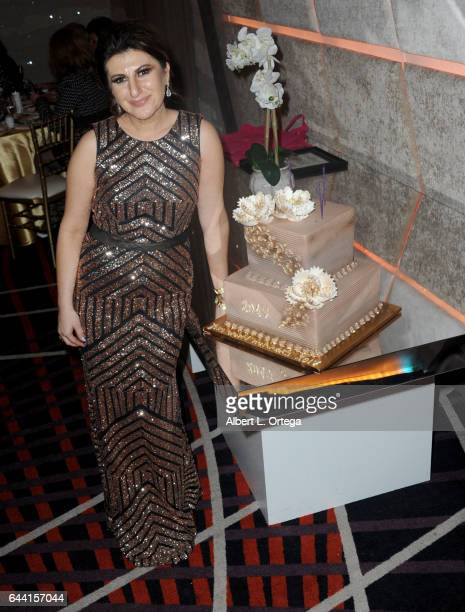 President/founder Lousine Karibian of The World Networks art the 2017 Entrepreneur Awards held at Allure Events And Catering on February 22 2017 in...