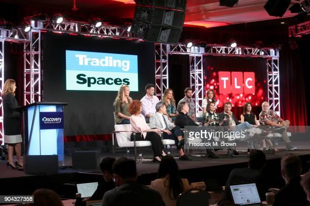 President/General Manager of TLC Nancy Daniels and new cast members Joanie Sprague John Gidding Sabrina Soto Brett Tutor and Kahi Lee and original...
