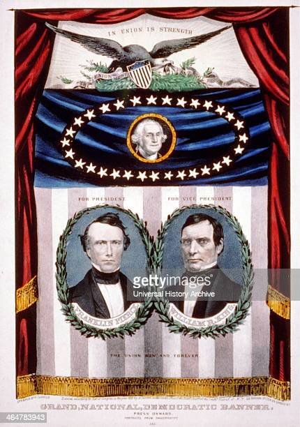 Presidential Campaign Banner 1852