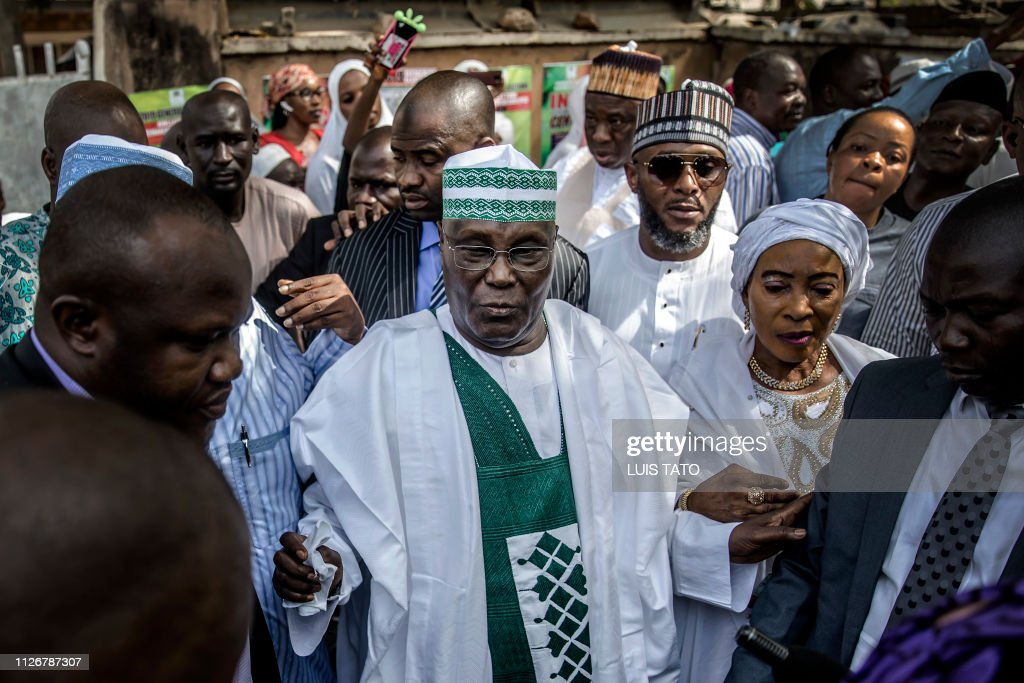 NIGERIA-VOTE : News Photo