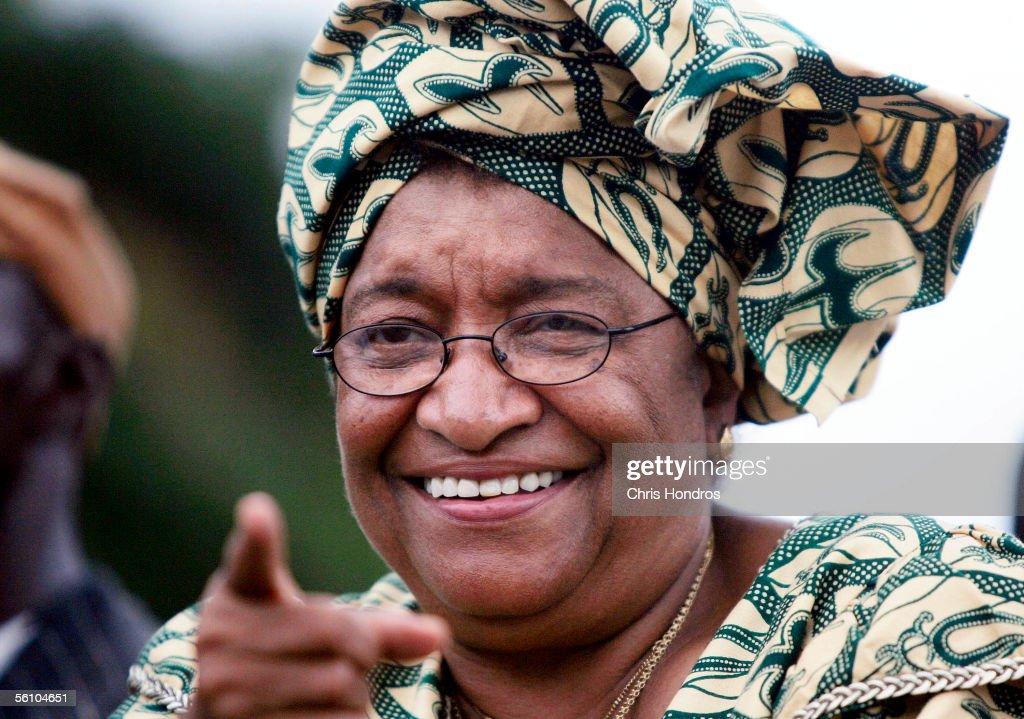 Presidential Hopeful Ellen Johnson Sirleaf Holds Parade Before Runoff