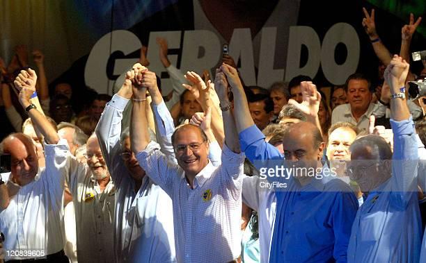 Presidential Candidate Geraldo Alckmin during Last Day of Brazilian Presidential Elections October 26 2006 in Sau Paulo Brazil