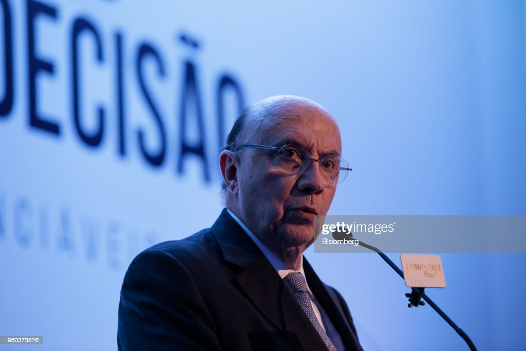 Presidential Candidate Henrique Meirelles Holds Event At The American Chamber Of Commerce For Brazil