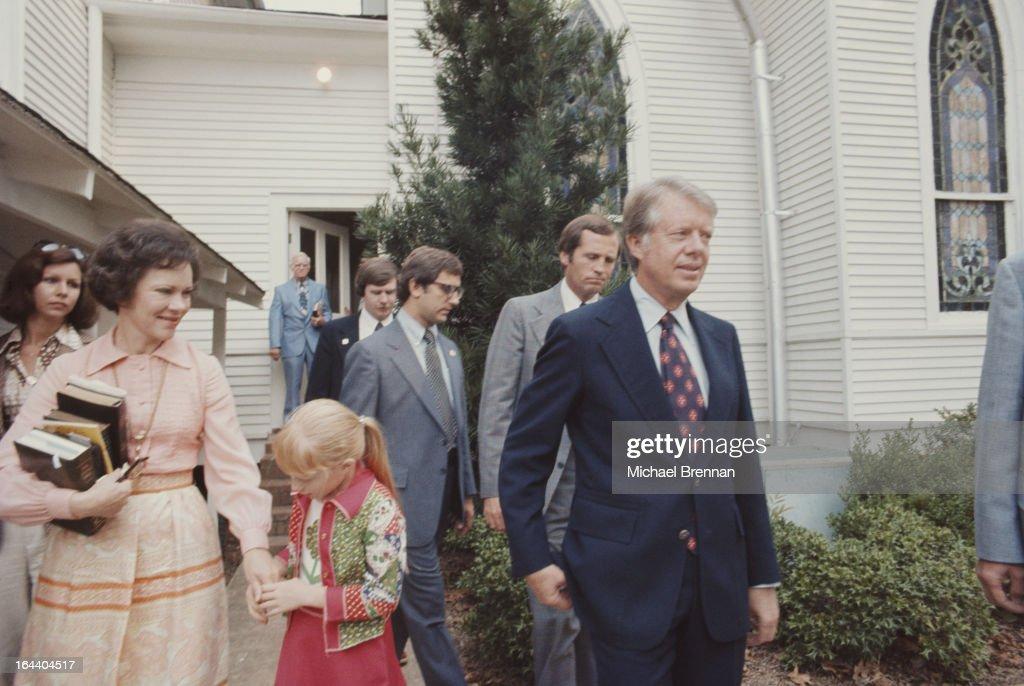 Carter Family : News Photo