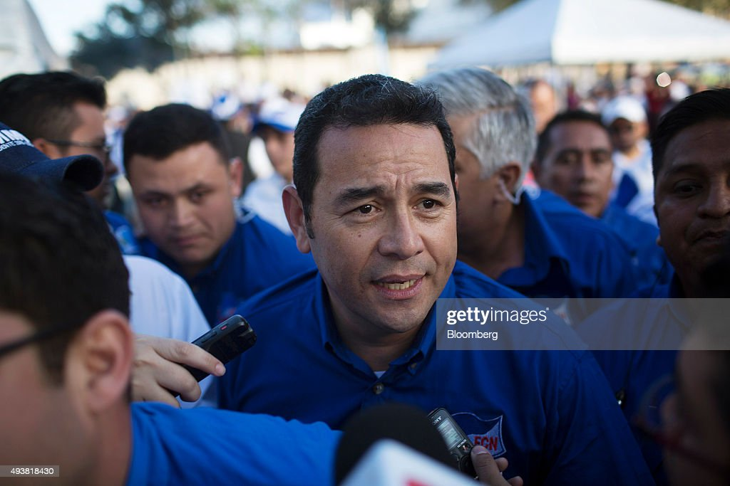 Presidential Candidate Jimmy Morales Campaign Rally