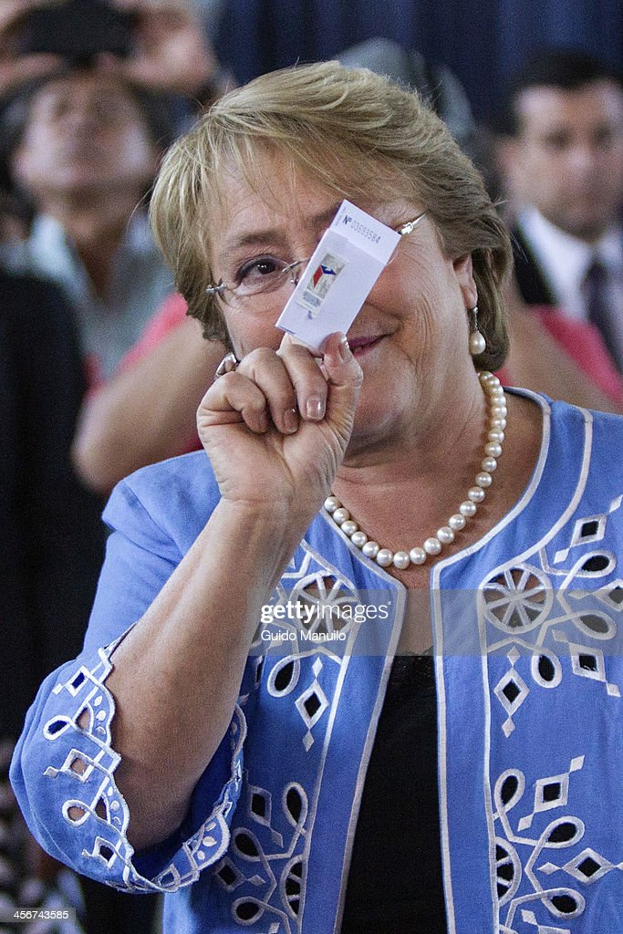 Presidential Ballotage in Chile : News Photo