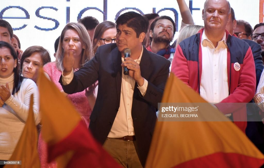 COSTARICA-VOTE-RESULT : News Photo