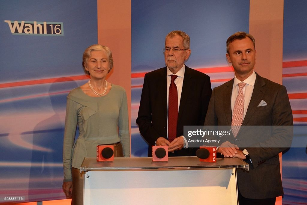 Austrian presidential elections : News Photo