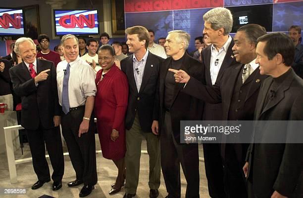 S Presidential candidates US Senator Joe Lieberman Howard Dean Carol Moseley Braun US Senator John Edwards Retired US General Wesley Clark US Senator...
