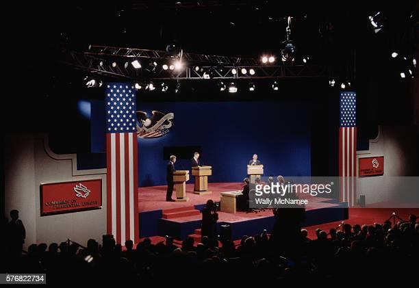Presidential Debate in Lansing Michigan