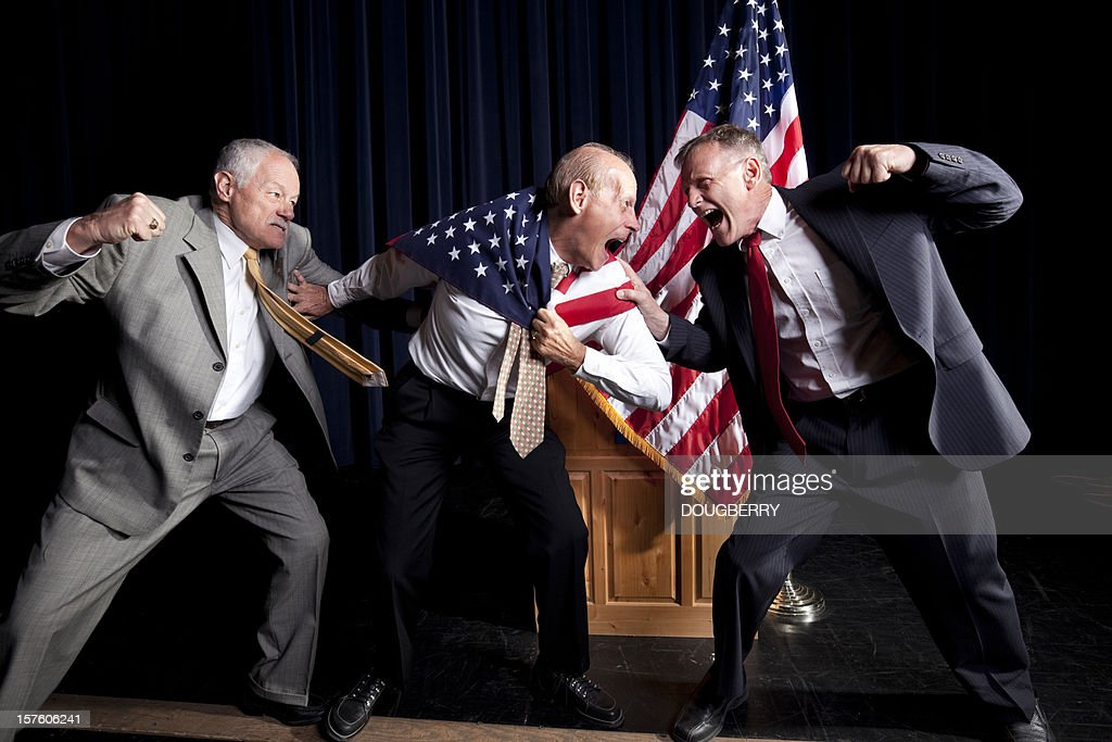Presidential debate : Stock Photo
