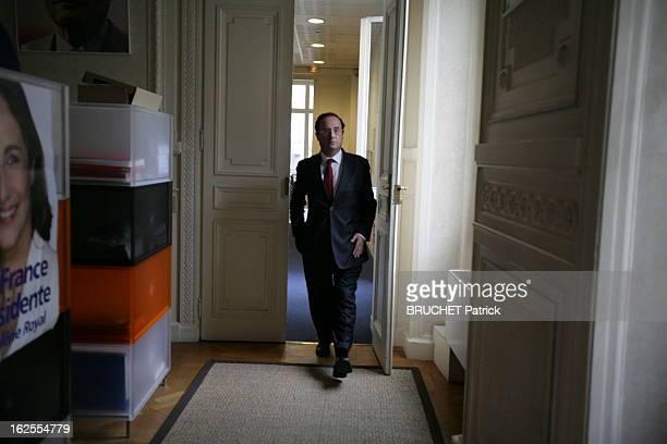 Presidential Election 2007 The Second Round Paris 6 mai 2007 Deuxième tour des élections présidentielles L'attente des résultats au PS François...