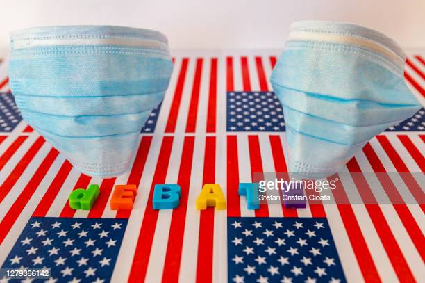 usa presidential election 2020 debate concept - presidential debate stock pictures, royalty-free photos & images