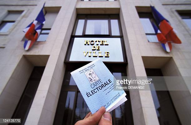 Presidential Election first round In France On April 23 1995