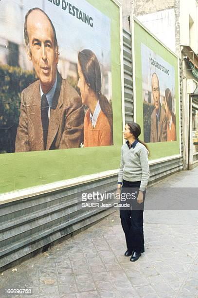 Presidential Election Of May 1974 Campaign Of Valery Giscard D'Estaing Valéry GISCARD D'ESTAING ministre de l'Economie et des Finances est candidat à...