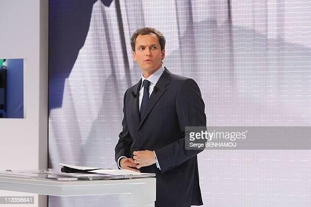'2007 Presidential Election' On France2 Et France3 In Paris France On April 22 2007 Louis Laforge