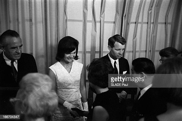 Presidential Elections Democratic Convention In Atlantic City New Jersey Atlantic City 2730 Août et 2 Septembre 1964 La Convention nationale des...