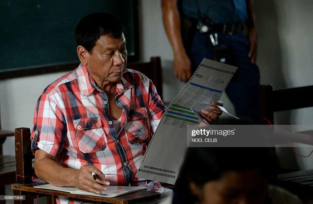 Rodrigo Duterte Poised To Win Philippine Elections