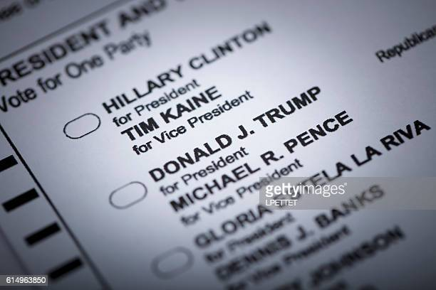 presidential general election 2016 - presidential election stock pictures, royalty-free photos & images