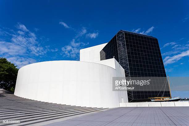 jfk presidential library and museum in boston, massachusetts - john f. kennedy library stock photos and pictures