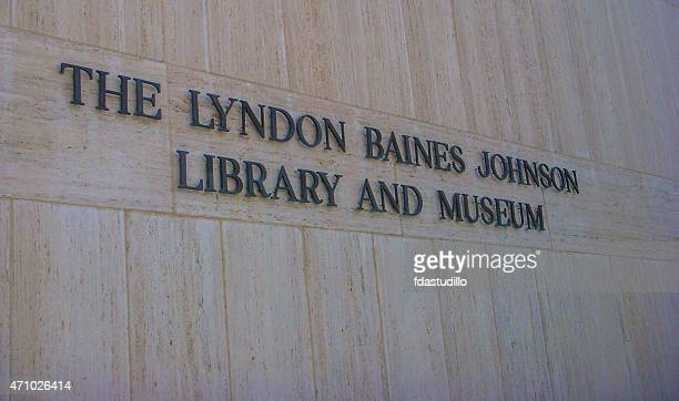 lbj presidential library - austin, texas - university of texas at austin stock pictures, royalty-free photos & images