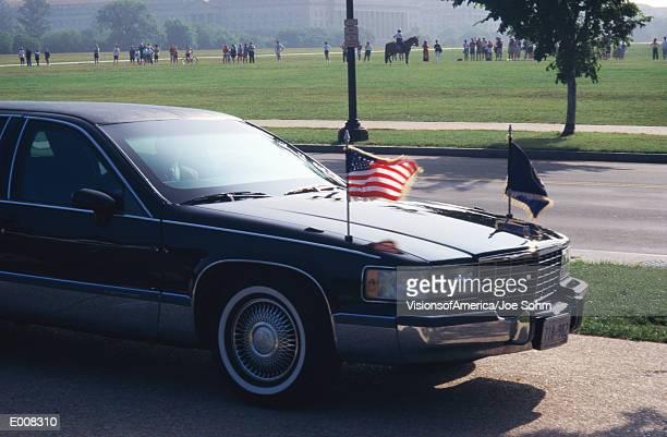 presidential limousine - präsident stock-fotos und bilder
