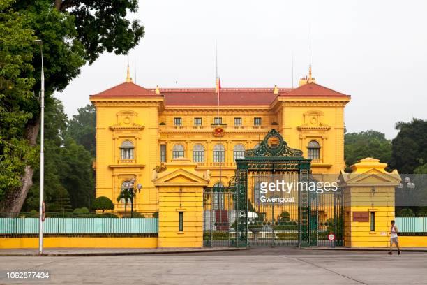 Presidential Palace of Vietnam in Hanoi
