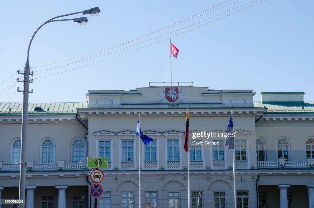 Presidential Palace, Vilnius : Stock-Foto