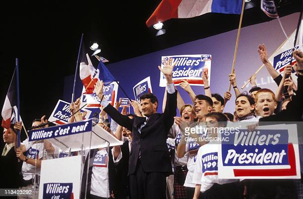 Presidential Philippe De Villiers On April 9th 1995