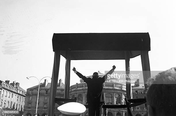 Presidential Travel Of Charles De Gaulle In Britain Rennes le 11 septembre 1960 voyage officiel en bretagne de Charles DE GAULLE président de la...
