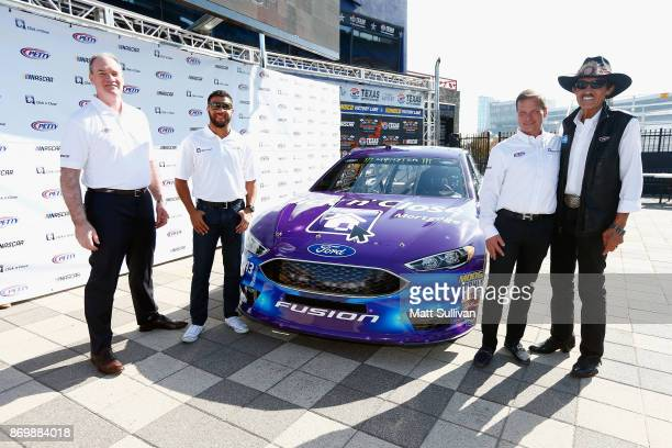 President/Owner of Mid America Mortgage Jeffrey E Bode NASCAR driver Darrell Wallace Jr NASCAR Executive Vice President and Chief Global Sales and...