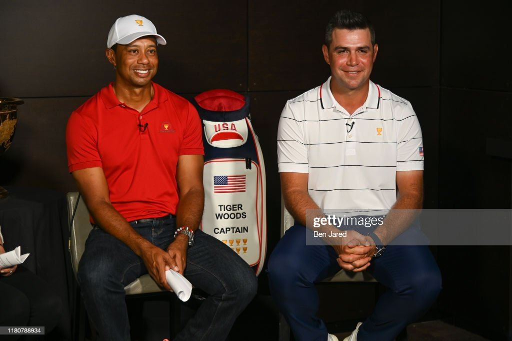 2019 Presidents Cup Captain's Picks - Tiger Woods : News Photo